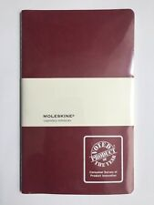 Moleskine Legendary Notebook with Product of the Year Logo, Shrink Wrapped