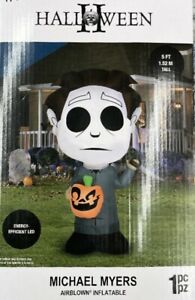 """*Michael Myers* Halloween 2021 GEMMY Airblown inflatable 5"""" In Hand Ships Now!"""