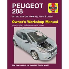PEUGEOT 208 HAYNES MANUAL 2012-19 1.0 1.2 1.4 1.6 PETROL 1.4 1.6 DIESEL WORKSHOP
