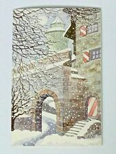 20 Stück Weihnachtskarte  Kaiserburg  Nürnberg