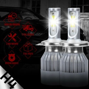 XENTEC LED HID Headlight kit H4 9003 White for 1994-2002 Land Rover Discovery