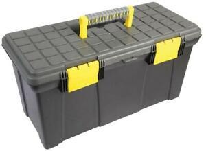 """Plastic Tool Box 19"""" (255mm x 500mm x 250mm)"""