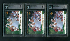 2002 Phil Mickelson Upper Deck #41 Rookie RC BGS 9 GEM MINT Lot 3 Cards