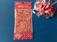Adesivo ADESIVI PERLA piatto 375 x 5 mm carte fatte a mano inviti di nozze RS113