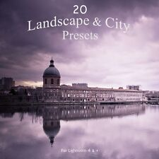 Pack 20 Presets Lightroom Landscape & City Light Colors for LR4, 5, 6 and CC
