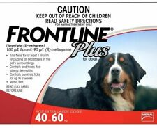 FRONTLINE Plus Flea and Tick Treatment for Dogs - 40-60Kg, 6-Pack