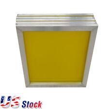 "US - 6pcs - 20"" x 24""Aluminum Frame Screen Printing Screens With 230 Yellow Mesh"