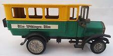 Ziss Modell MAN erster Diesel-Lastwagen 1923/24 Bus gelb grün