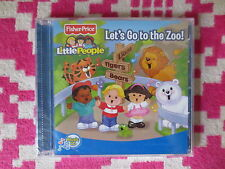 NEW Fisher Price Little People Let's Go To The Zoo Music CD Kids