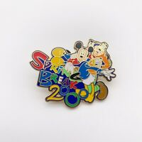 Disney Mickey Goofy And Donald Duck Spring Break 2000 Trading Pin