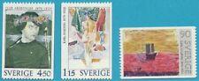 Schweden aus 1978 ** postfrisch MiNr. 1034-1036 - Gemälde!