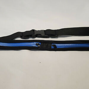 Fitness Sport Running Pocket Bag Running Belt Pouch Choose Green or Blue NEW!