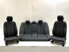 OEM BMW 328I 335I 320I F30 FRONT REAR PASSENGER DRIVERS BLACK MANUAL SEATS