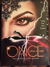Once Upon a Time Season 6 (DVD, 2017,5-Discs) US Seller Same Day Ship Brand NEW