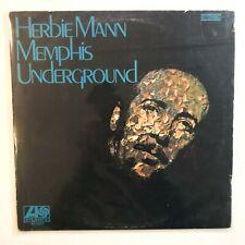 Herbie Mann – Memphis Underground LP Vinyl Record Jazz Original 1969