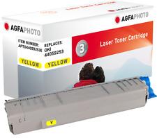 CARTUCCIA TONER AGFA PER OK MC 861 + COLORE GIALLO 44059253