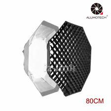 "Octagonal Soft Box Honey Comb Grid 80CM 31.5"" For Studio Accessory Flash Light"