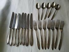 New listing Vintage Alvin Sterling Silver Flatware Southern Charm Dinner Forks Spoons Knives