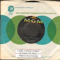 Burdon, Eric & The Animals - A Girl Named Sandoz Vinyl 45 rpm record
