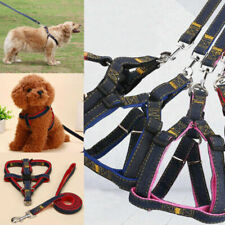 Pet Nylon Dog Harness and Leash Set Adjustable Harness For Large Small Dog Leash