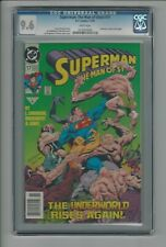 Superman: The Man Of Steel #17 CGC 9.6 NM+ 1st Cameo Appearance of Doomsday 1992