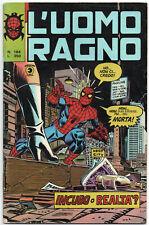 L' UOMO RAGNO corno N.184 INCUBO O REALTA' ? iron man wolf saga originale clone
