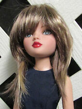 """DOLL Wig, Monique Gold """"JoJo"""" Size 4/5, Brown w Blonde Highlights (New)"""