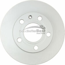 One New OPparts Platinum Disc Brake Rotor Rear 40254042 for Audi A4 A4 Quattro