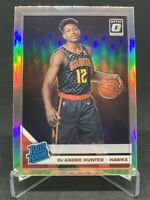 DeAndre Hunter 2019-20 Donruss Optic Silver Holo #198 Rated Rookie RC HAWKS