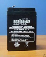 Lead Acid 6 V Rechargeable Batteries
