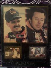 Pepsi Nascar Memorabilia Collectible Dave's Allison & Alan Kulwicki 1993 Plaque