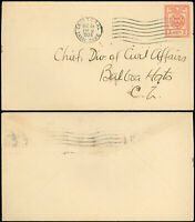 12/26/1924 CRISTOBAL CANAL ZONE -Chief Div. of Civil Affairs Scott #U9 Envelope!
