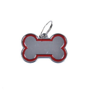 Pet Cat Dog ID Tags Personalized Engraved Name Tag Slide On Collar Tag for Pu /E