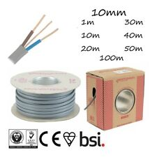 10mm Twin and Earth Cable T&E Grey Electric Shower Circuits  Oven Circuits
