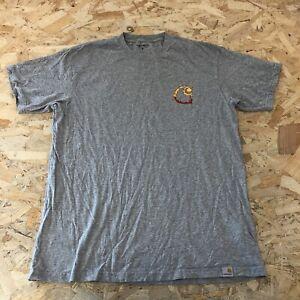 Mens T-shirt M Medium Carhartt Grey B6047
