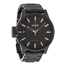 Nixon The Chronicle All Black Mens Watch A441957