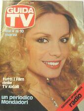 GUIDA TV 1979 N.49 MARIA GIOVANNA ELMI ORNELLA MUTI LE SORELLE BANDIERA