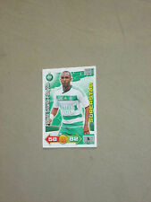 SINAMA-PONGOLLE SAINT-ETIENNE  SUPERSTAR Trading card ADRENALYN PANINI 2011-2012