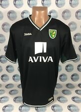 Norwich City 2008 2009 Away Football Soccer Shirt Jersey Maglia Trikot Maillot L