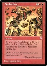 "Magic The Gathering (MtG) Karte ""Nachbeben"" deutsch neuwertig"