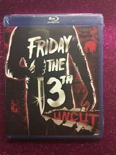 Friday the 13th  (Blu-ray Disc, 2009; Uncut & Unrated) NEW