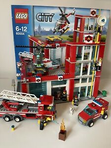 Lego City Fire Station (60004) - RETIRED