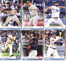 Carte collezionabili baseball 2019