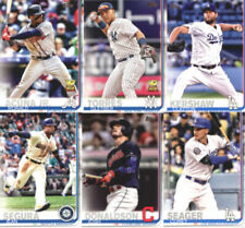 Carte collezionabili baseball 2019 singoli