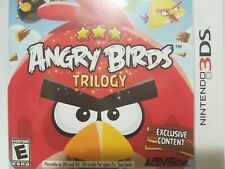 Angry Birds Trilogy (Nintendo 3DS, 2012)