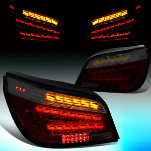 FOR 2004-2007 BMW E60 525I 530I 545I SEQUENTIAL TURN SIGNAL OLED TAIL LIGHT LAMP