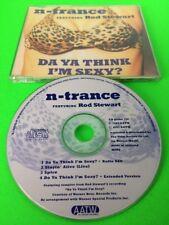 N-TRANCE FT ROD STEWART - DA YA THINK I'M SEXY - CD SINGLE