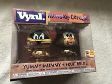 FUNKO POP Vynl SDCC 2018 EXCL Sticker Yummy Mummy Fruit Brute 2-pack SEE PIC