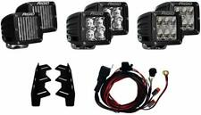 RIGID 41610 2017 Ford Raptor Triple Fog Light Kit, Incl. (6) D-Series Lights NEW