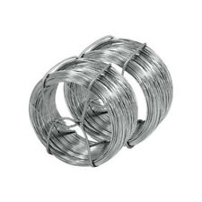 2x Galvanised Garden Wire 40M Long Roll Plant Support Vine Tying Cord 80m Total
